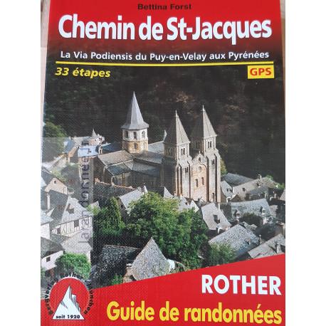 Rother Chemin de St-Jacques.