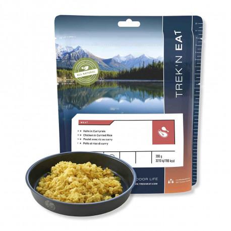 Trek´n Eat Curry de poulet au riz
