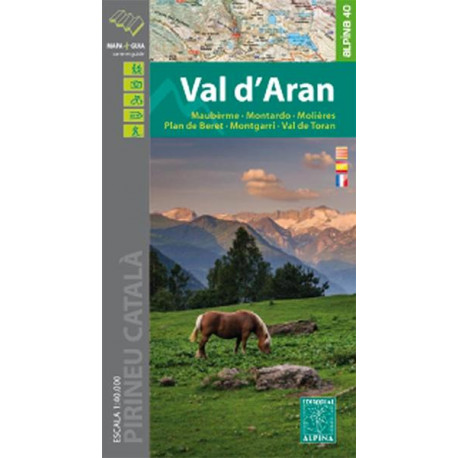 Carte Editorial Alpina - Val d'Aran