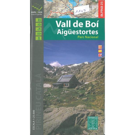 Carte Editorial Alpina - Vall de Boi/ Aigüestortes