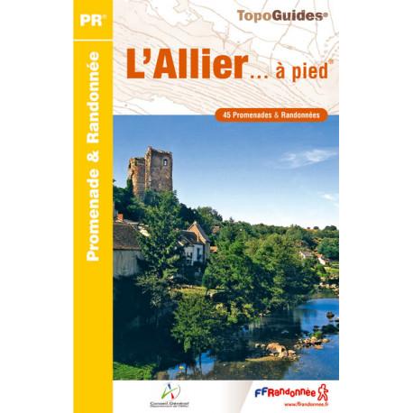 FFRP - D003- L'Allier... à pied - PR 45 balades