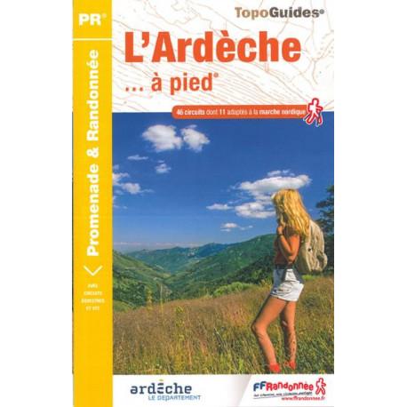 FFRP - D007- L'Ardèche... à pied - PR 46 balades