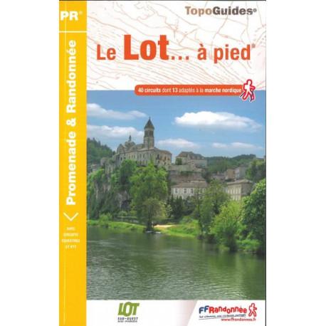 FFRP - D046- Le Lot... à pied - PR 40 balades