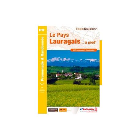 FFRP - P115- Le Pays Lauragais... à pied - PR 30 balades