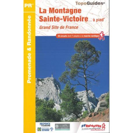 FFRP - P131- La Montagne Sainte-Victoire... à pied - PR 28 balades
