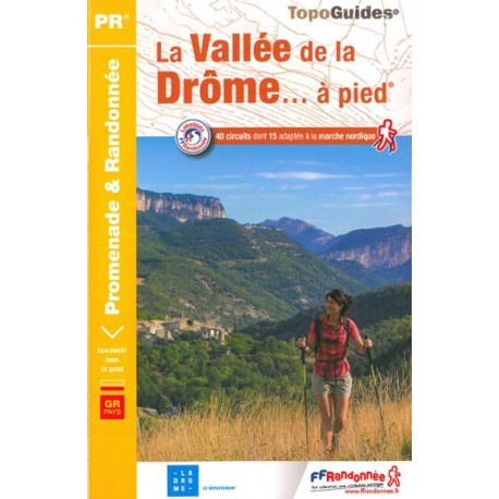 FFRP - P263- La Vallée de la drôme... à pied - PR 40 balades