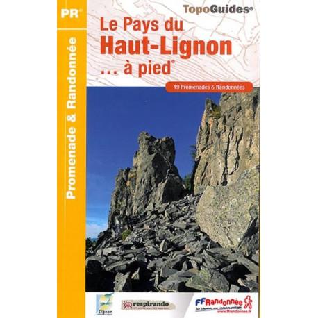 FFRP - P432- Le pays du Haut-Lignon... à pied - PR 19 balades