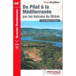 FFRP-411 - Du Pilat à la Méditerannée-GR42