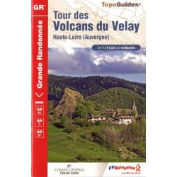 FFRP-425 - Tour des Volcans du Velay -GR40