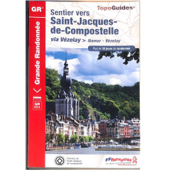 FFRP- 654 Sentier vers Saint-Jacques-de-Compostelle via Namur-Vézelay