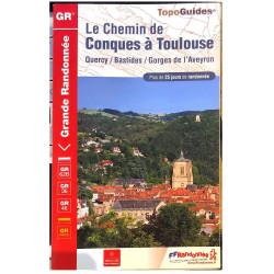 FFRP- 3646 Le Chemin de Conques à Toulouse