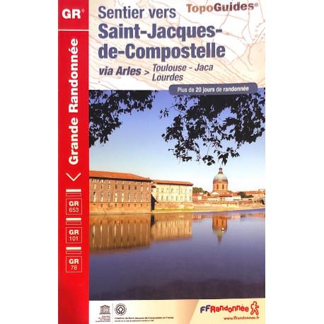 FFRP- 6534 Sentier vers Saint-Jacques-de-Compostelle Via Arles