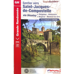 FFRP- 6543 Sentier vers Saint-Jacques-de-Compostelle Via Vézelay