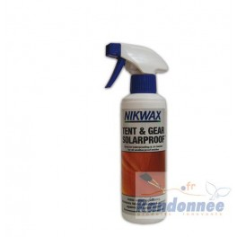 Nikwax Tent and Gear Solar proof.