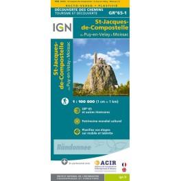 IGN St Jacques de Compostelle du Puy-en-Velay à Moissac