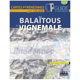 SUA édition Carte et guide Balaïtous et Vignemale