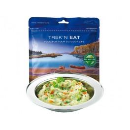 TREAK'N EAT Purée épicée aux légumes et graines de chanvre