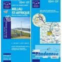 Carte de randonnée TOP25 IGN  IGN 2541OT MILLAU ST-AFFRIQUE