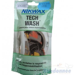 Tech Wash lessive Nikwax.