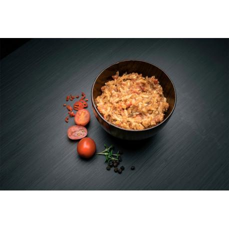 Real Turmat Porc effiloché au riz.
