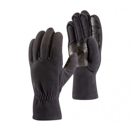 Black Diamond Midweight Windbloc Fleece Gloves.