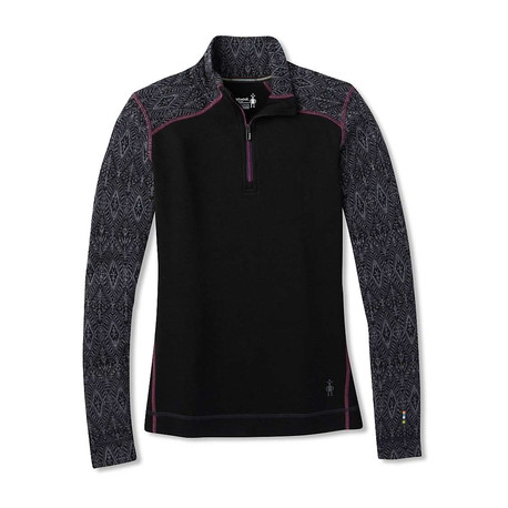 Smartwool W's Merino 250 Baselayer Pattern 1/4 Zip Boxed.