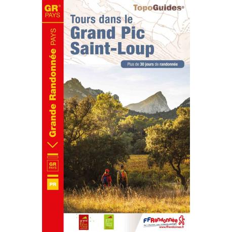 Topo Guides  3401 FFRP Tour dans le Grand Pic Saint-Loup.