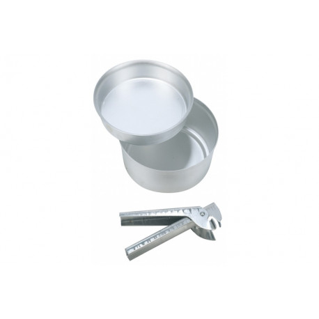 CAO. Popote Aluminium Randonnée Petit Modèle.